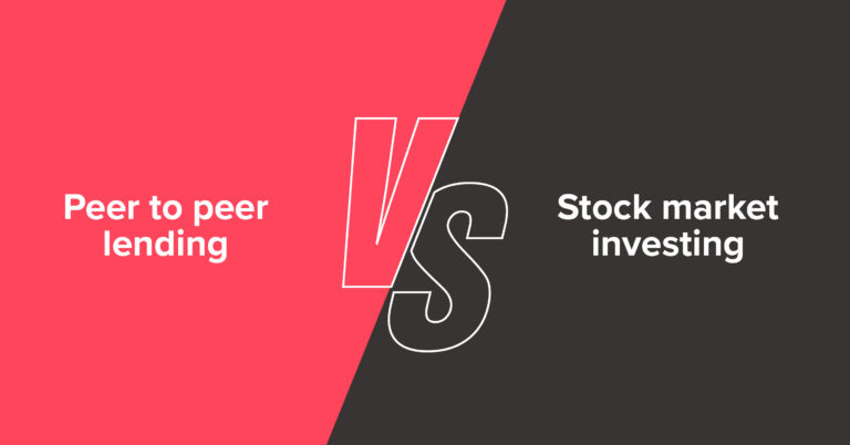 P2P lending vs Stock market investing